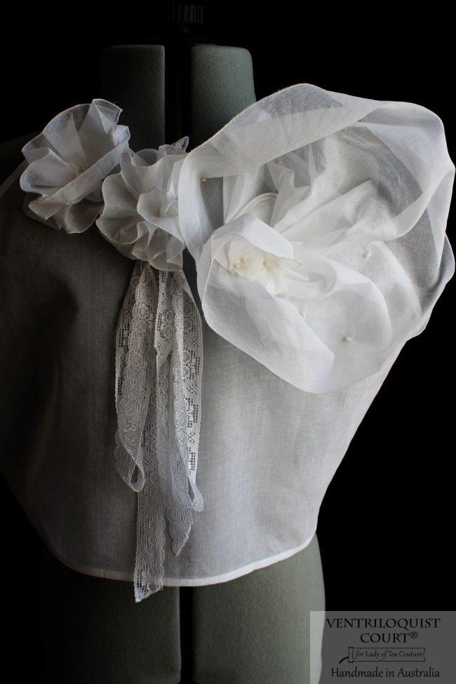 Romantic White Sheer Cotton - Modern Poetess Collection