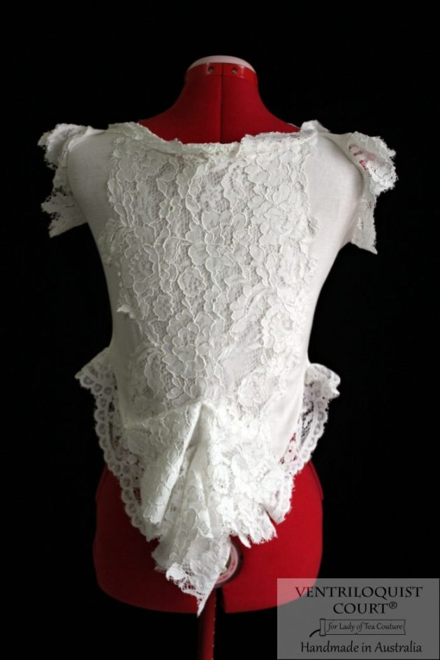 Romantic Victorian Ruffle Tail Blouse