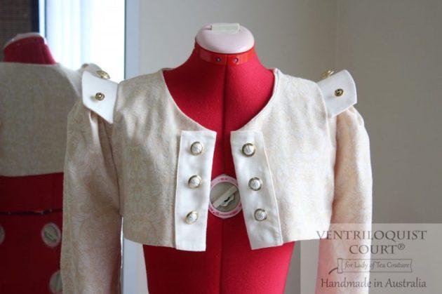 Neo-Victorian Damask Jacket