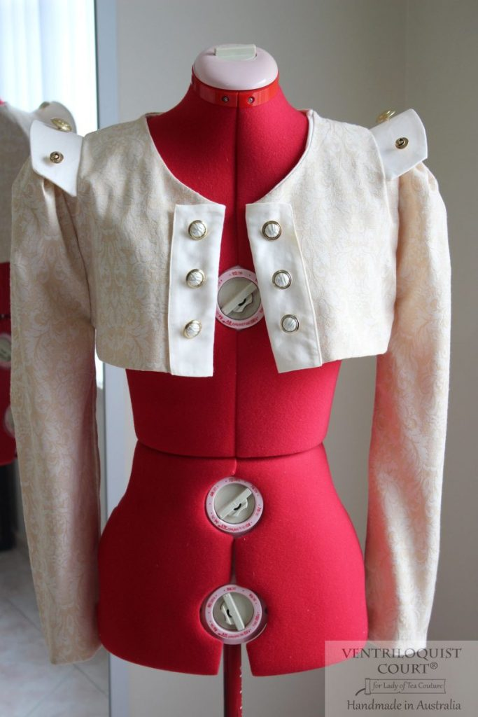Steampunk bolero jacket