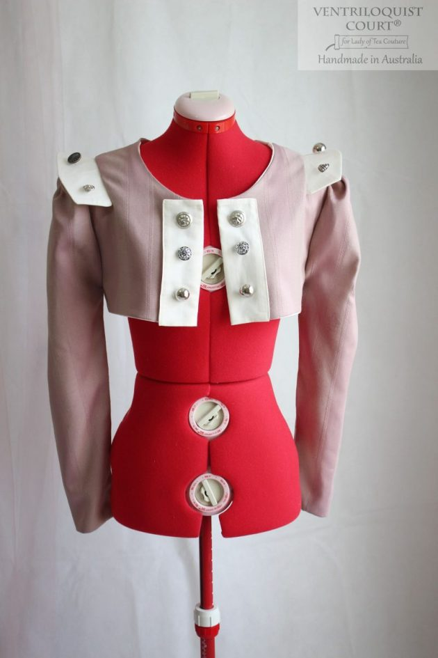 Dusty Pink Steampunk Jacket