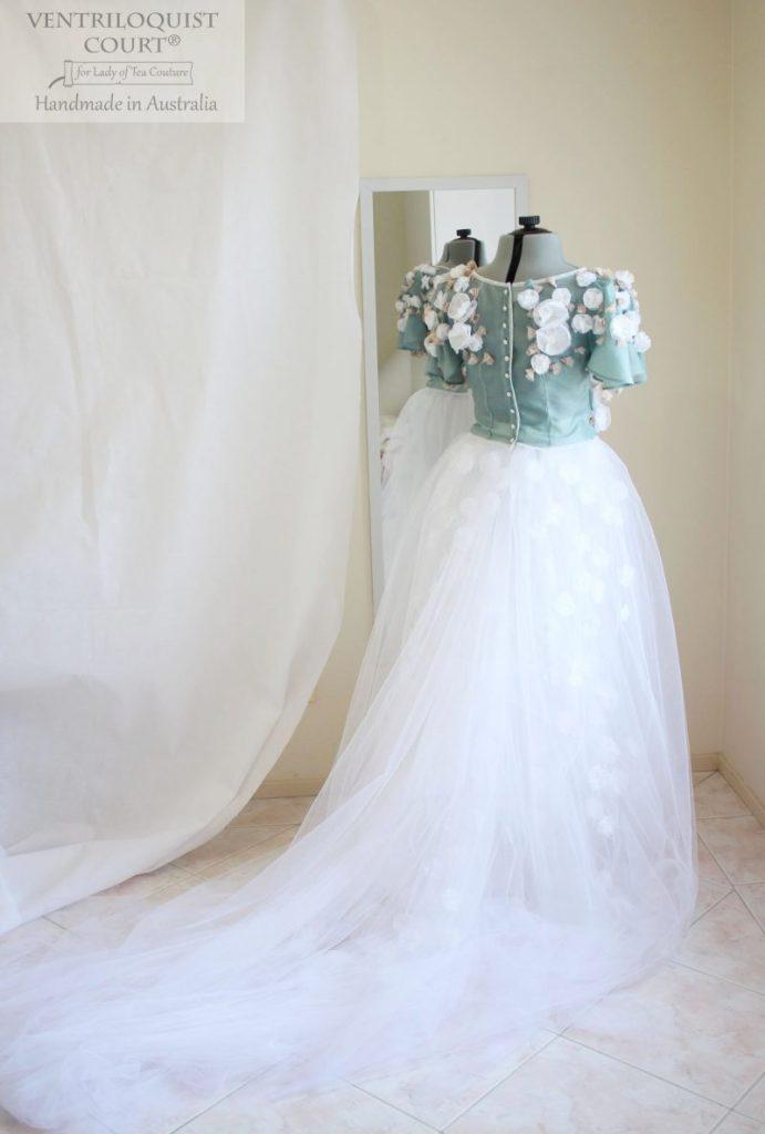 Fairy Tale Bridal Tulle Gown - Bridal Designer Store Ventriloquist Court®
