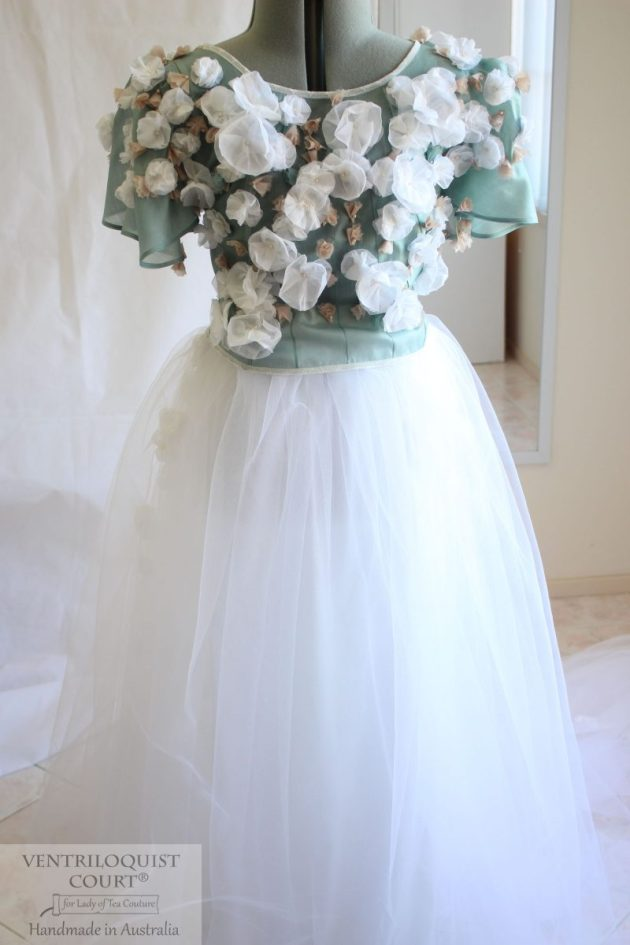 Whimsical wedding dress