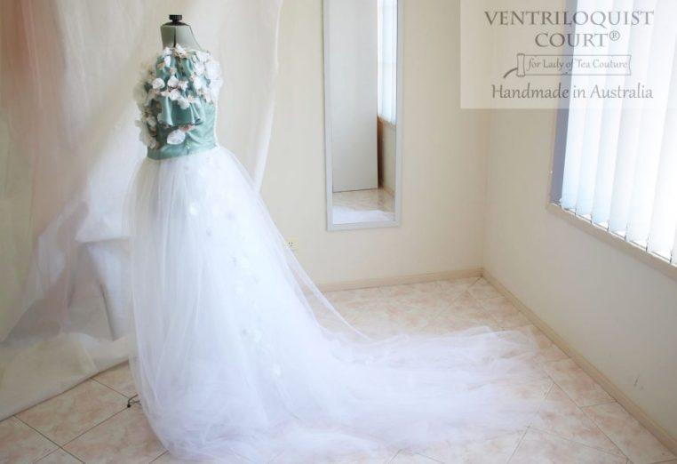 Princess Gown with Trail - Bridal Designer Ventriloquist Court®