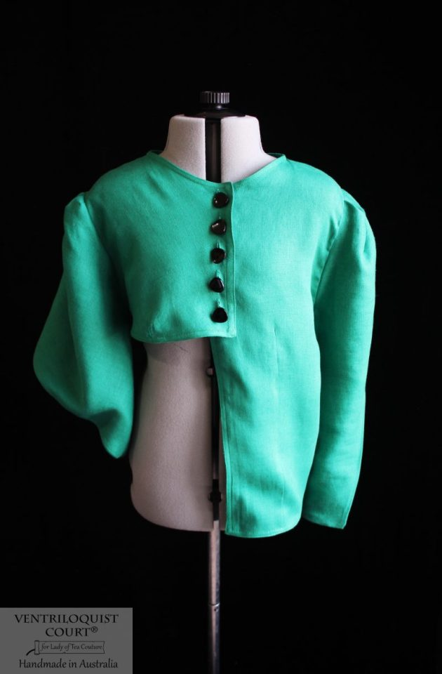 Abstract Clothing - Green Linen Jacket