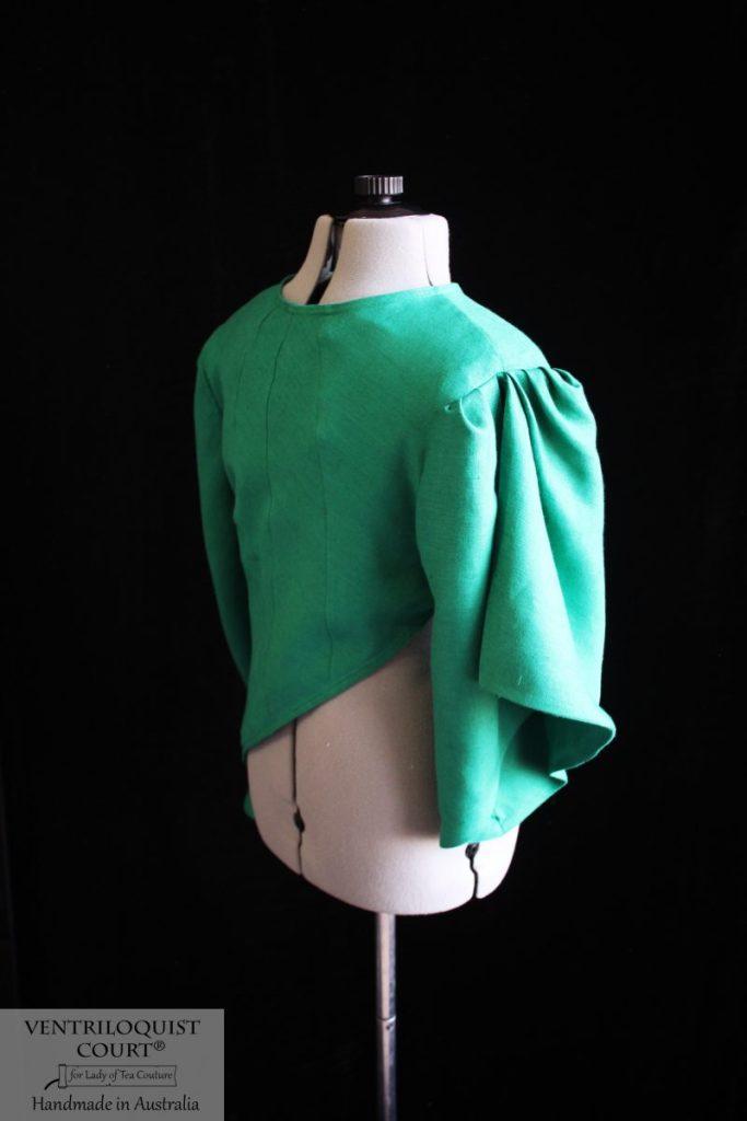 Tailor-Made Linen Jacket - Ventriloquist Court