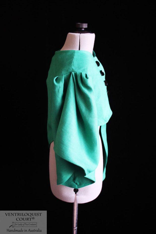 Green Linen Jacket - Made in Australia