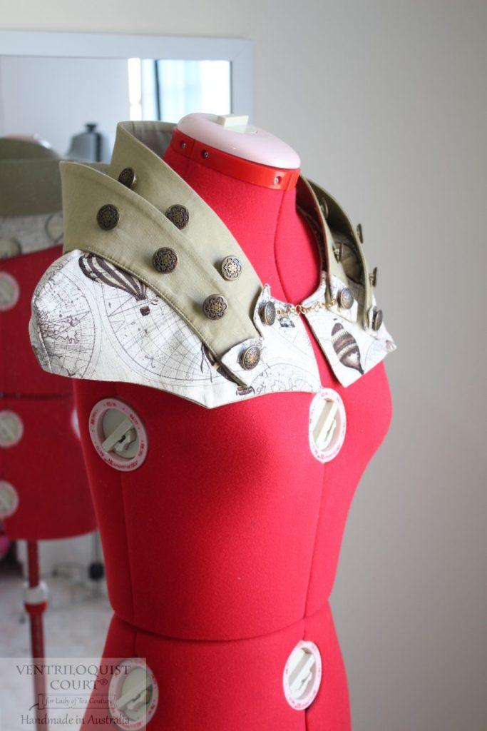 Steampunk collar - Women