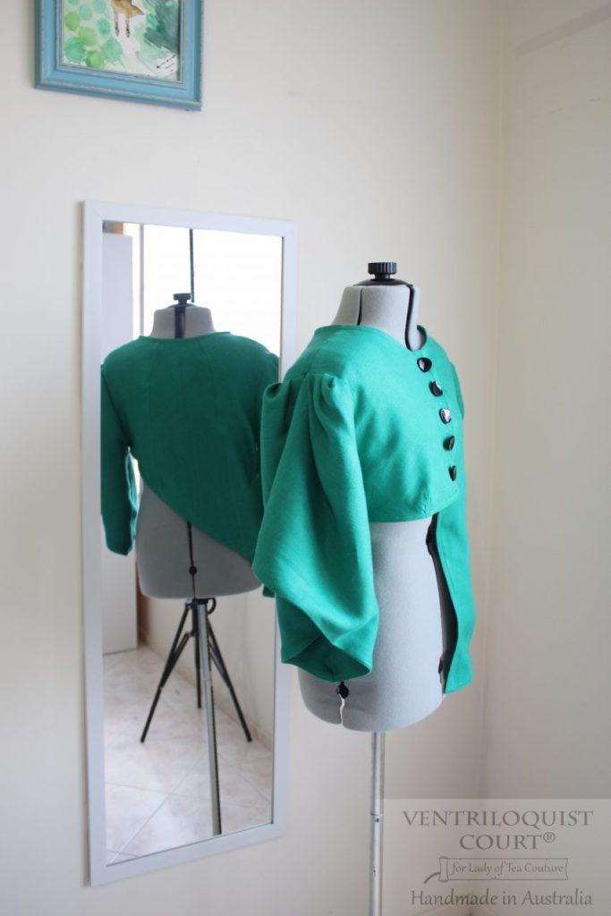 Green Avant-Garde Jacket