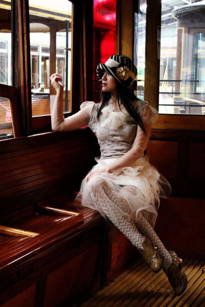 Handmade Vintage Style Tulle Dress