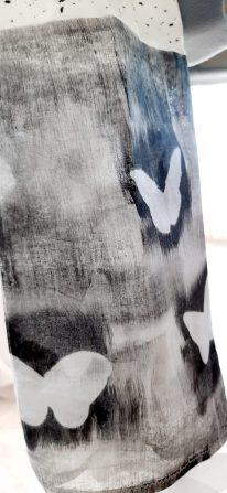 Black & White Butterflies Print