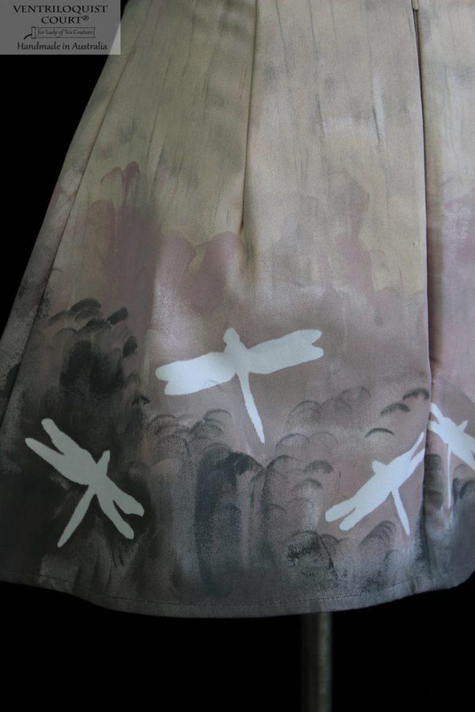 Whimsical art skirt