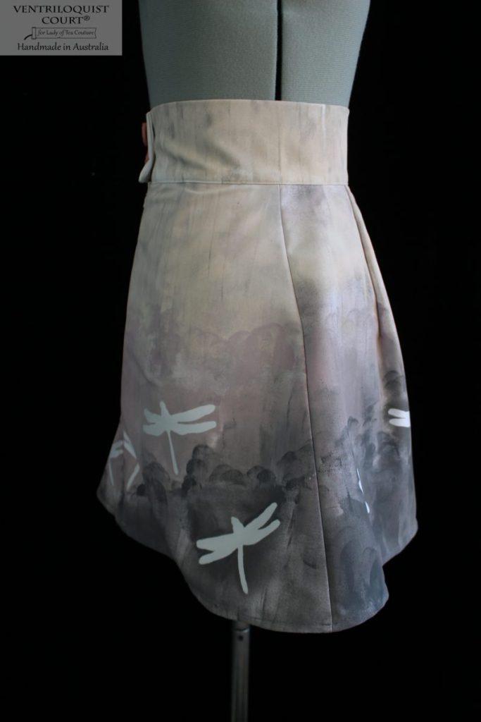 Handmade fashion print skirt