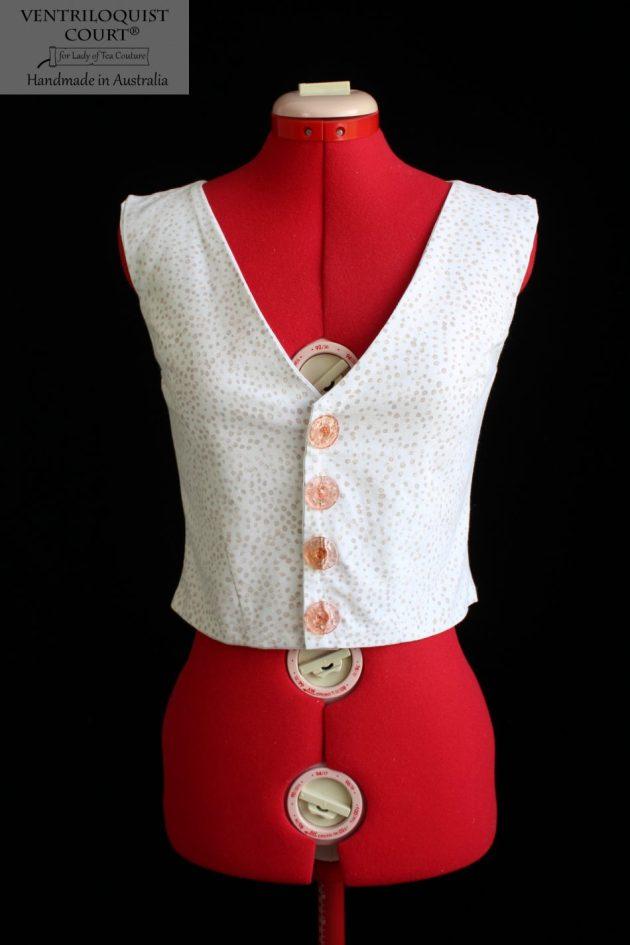 Tailored custom painted vest