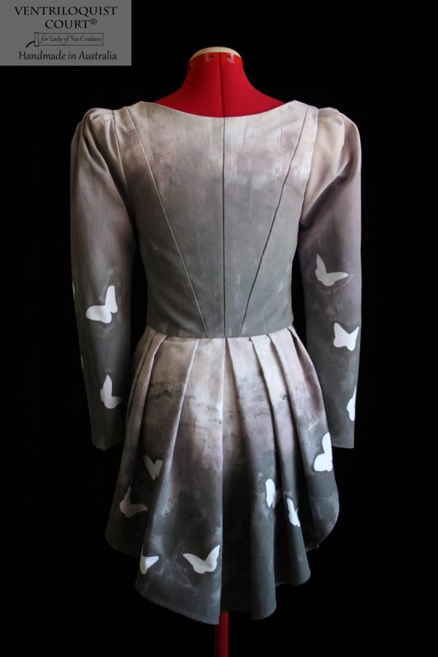 Victorian Style Jacket Hand-Painted & Made in Australia